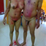 indian couple nude holi celebrations