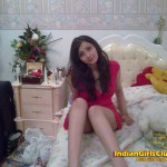 Arab Girl Very Hot on Bed