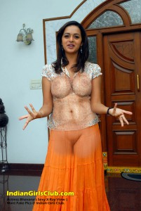 2 Actress Bhavana Fake Pics X-Ray View