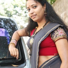 unmarried half saree girl 8