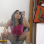 Teen Indian Girl's Self Shot Mirror Pics