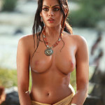 Karthika Hanging Melons and Small Tits