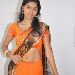South Indian Girl Saree Navel Show