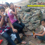 Desi College Girls Drinking Beer in the Beach