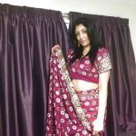British Indian Bride In Hotel