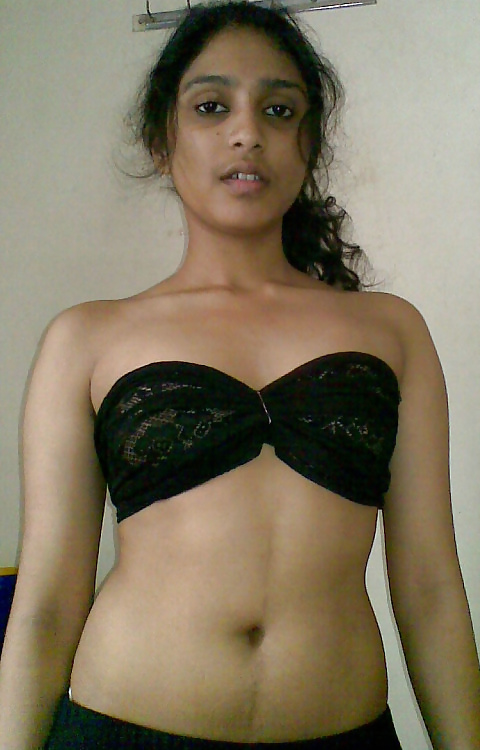 Naked chest indian girl