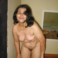 Mature Indian Aunty Nude Stripping Naked 5