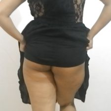 Indian MILF Aunty Black Lingerie Sex Photos