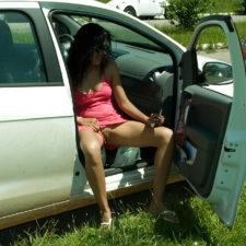 Indian GF Nude With Boyfriend In Car