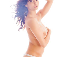 Indian Girl Nude Shanaya In White Pearl Dress 2