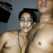 Indian Couple Naked Filmed Before Sex