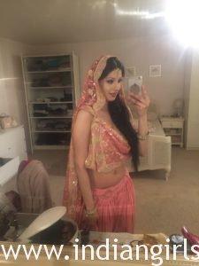 British Indian Bhabhi Taking Nude Selfie