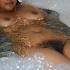 Young Indian Wife Filmed Naked Taking Shower