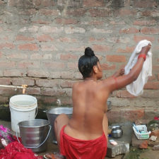 Indian Sex Photos Of Village Aunty Taking Shower In River