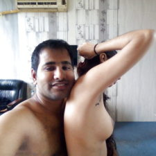 Real Amateur Indian Couple XXX Filmed Naked