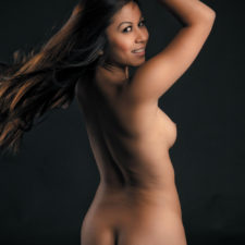 British Indian Teen Nikki Nude Photo Session