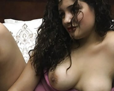 Exotic Indian Babe Stripping Pink Sexy Lingerie