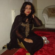 Charming Indian Hot Babe Stripping Naked In Lounge