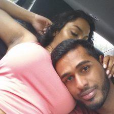 Indian Couple Sex Photos Filmed Inside Car