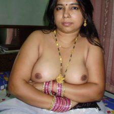 Indian Bhabhi Stripping Yellow Desi Saree Showing Boobs