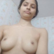 Hot Skinny Desi Teen Sonali Wearing Pink Top Naked