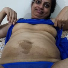Desi Hot Bhabhi In Purple Lingerie Getting Naked