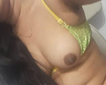 Tamil - Big Boob Sexy Bhabhi Green Lingerie Sex