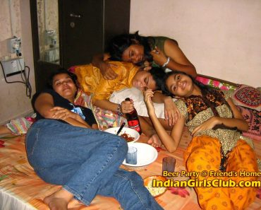 indian girls beer party