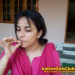 Mallu Aunty Trying Malabar Beedi