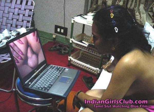 Tamil Slut Is Watching Bf Blue Film On Her Customer S Laptop